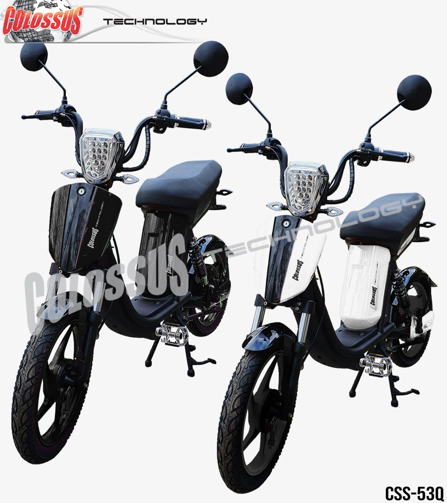 Električni bicikl Colossus-53Q crni