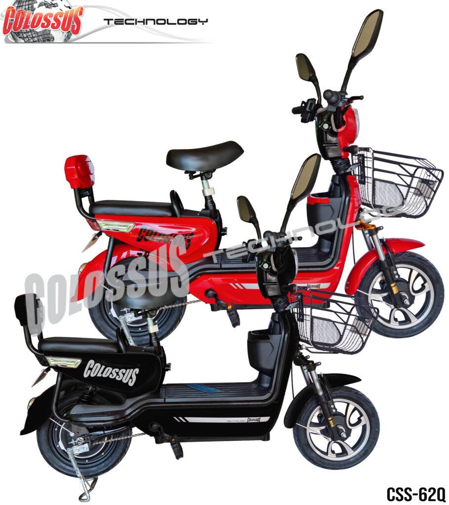 Električni bicikl Colossus-62Q Crni