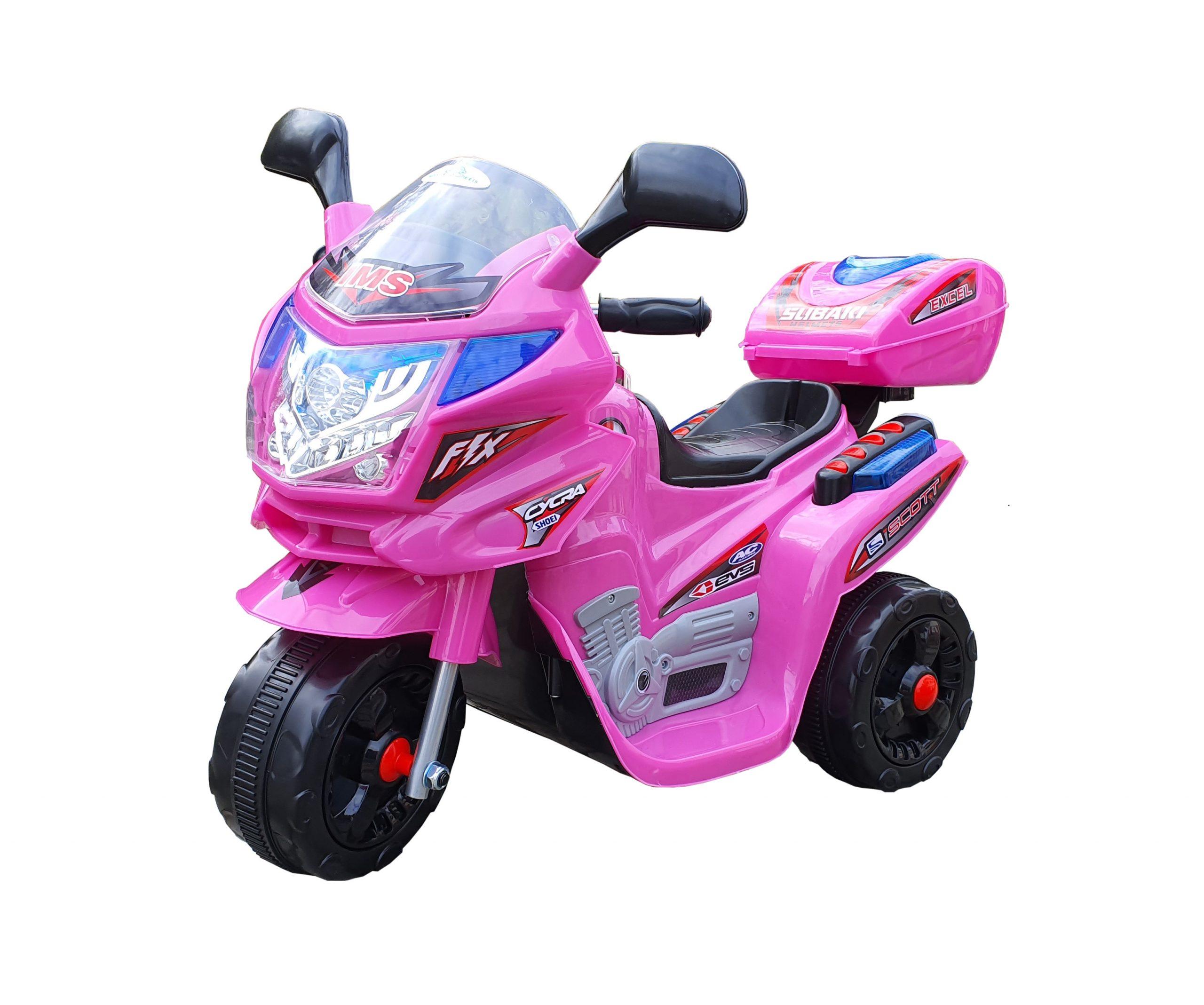 Motor na akumulator Model 104 roze