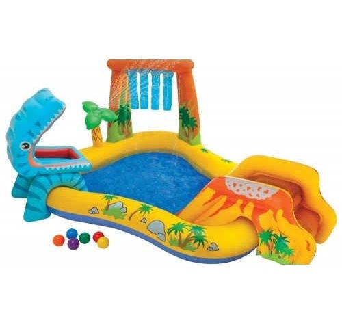 Bazen zabavni park Dinosaur 249x191x109 Intex