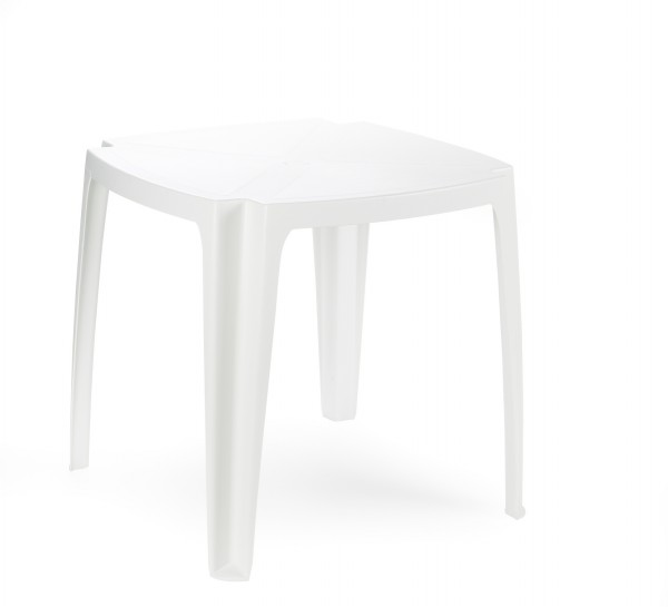 Baštenski sto plastični Tavolo beli
