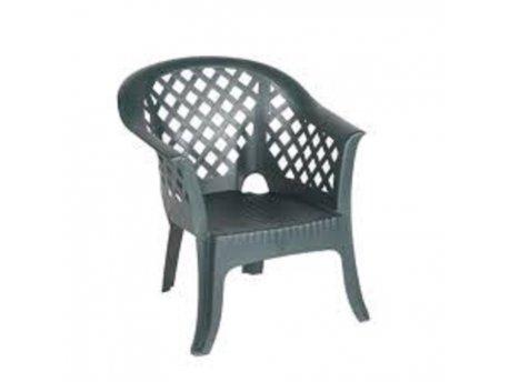 Baštenska stolica plastična Lario zelena