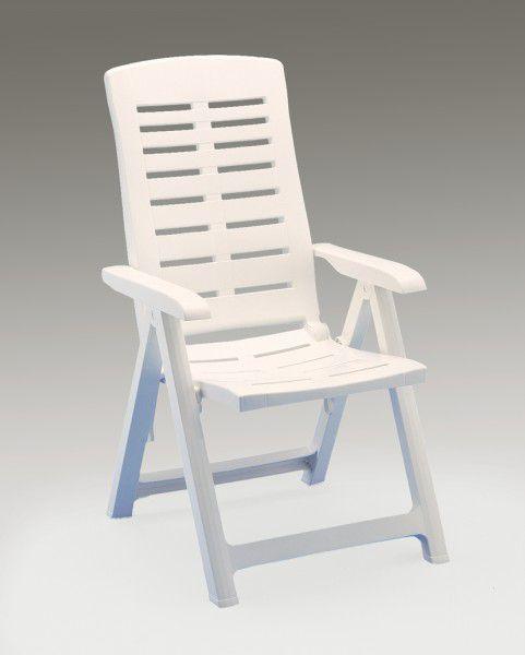 Baštenska stolica plastična rasklapajuća Yuma