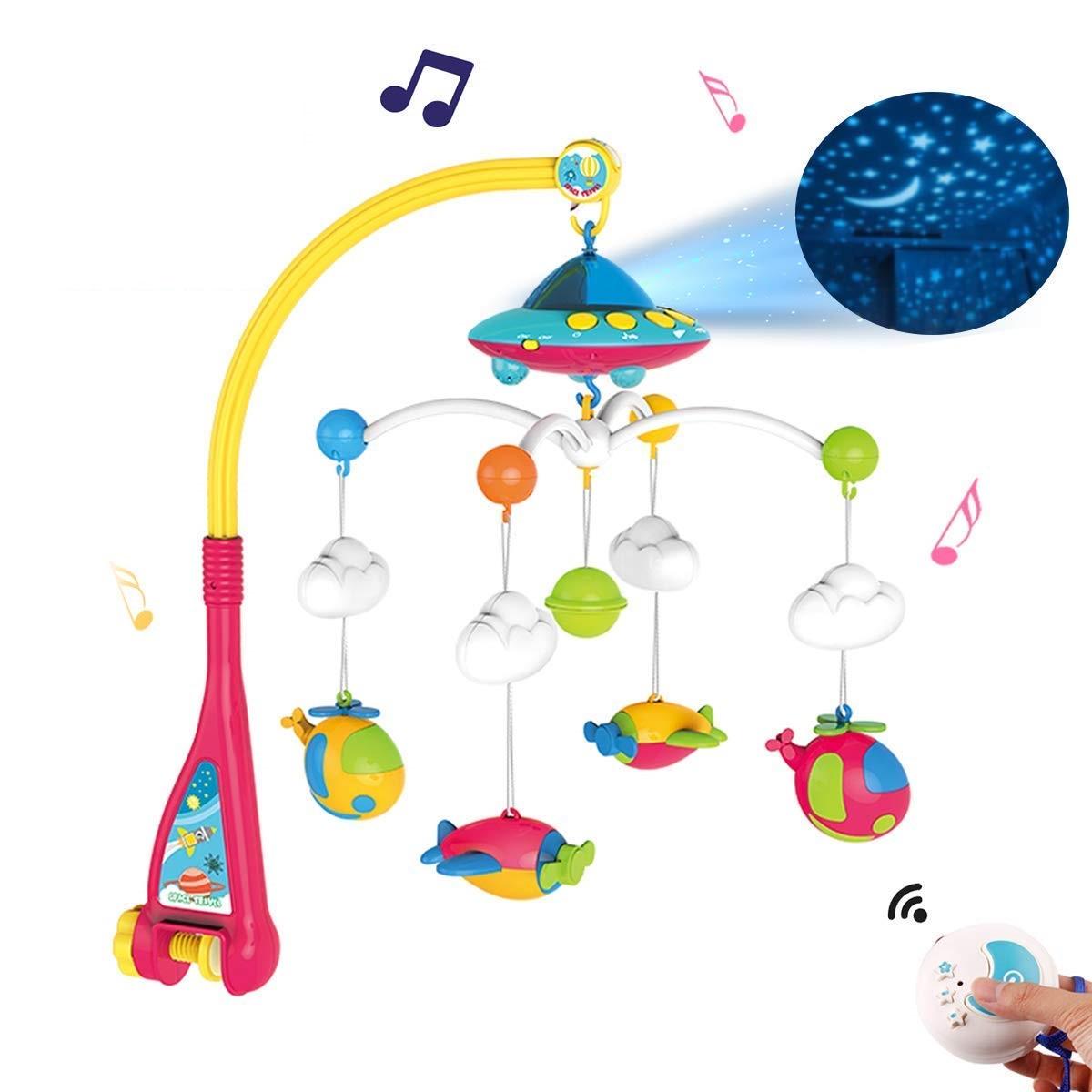 Muzička vrteška za krevetac Space Dream