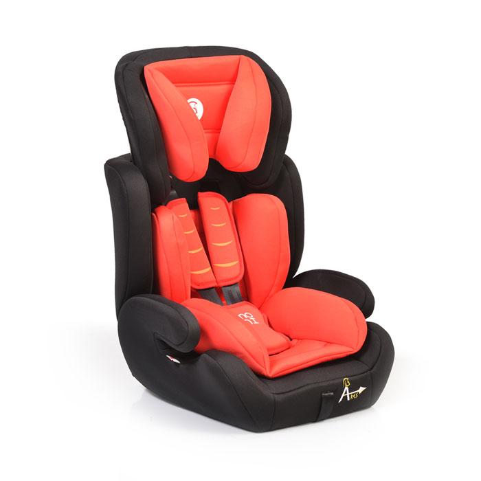 Auto sedište Ares crveno