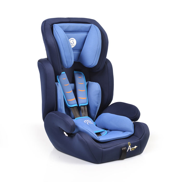 Auto sedište Ares plavo
