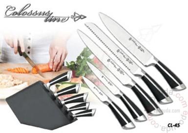 Set noževa sa stalkom Colossus Line CL-45