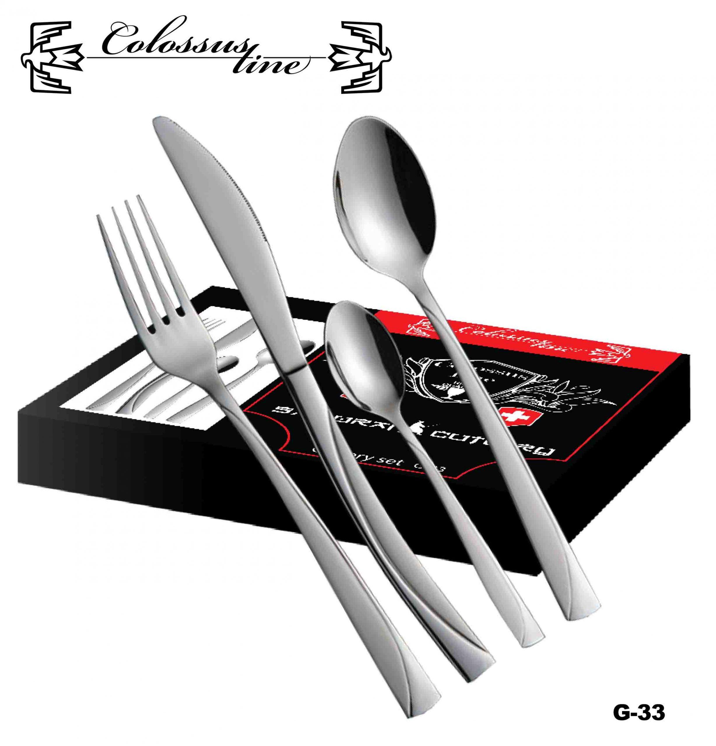 Exkluzivni escajg set 24pcs Colossus line Gently G-33