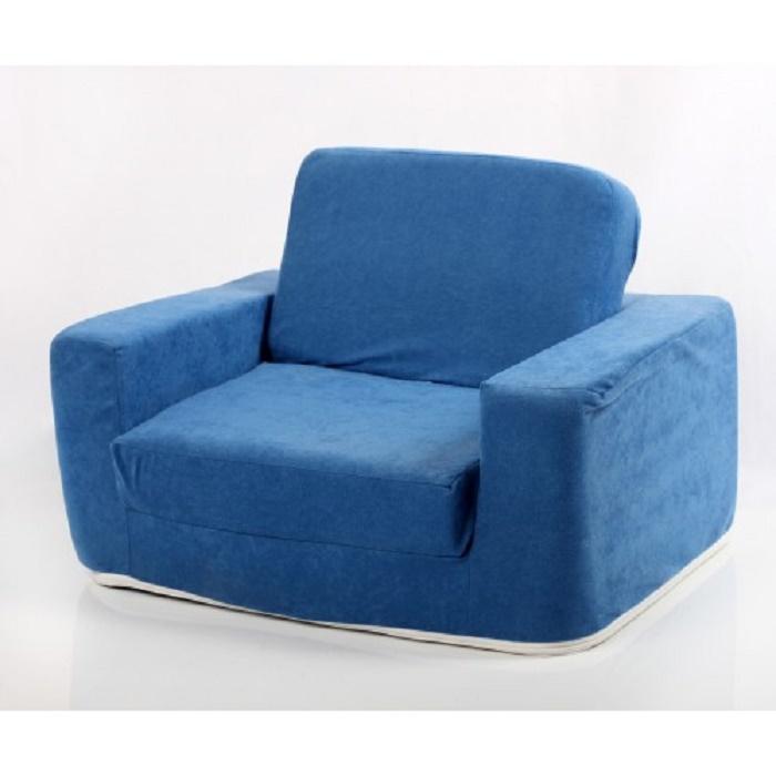 Fotelja za decu Klasik - Na Razvlačenje plava