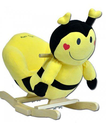 Plišana Njihalica ljuljaška Pčelica