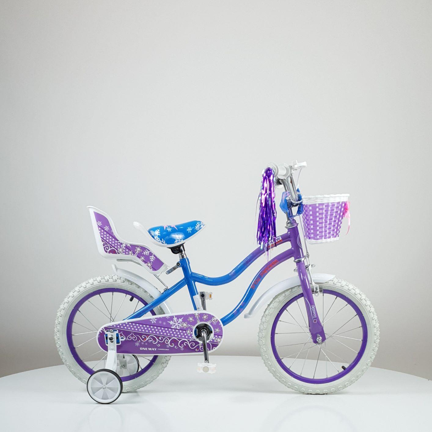 Bicikl model 716-16 ljubičasti
