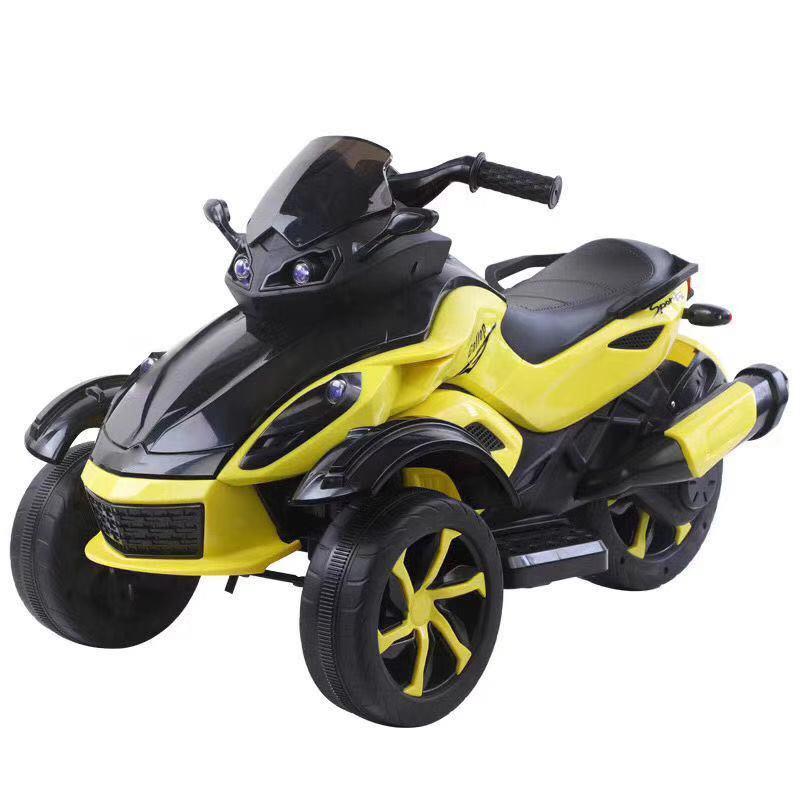 Dečiji bagi model 124 žuti