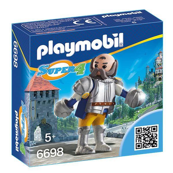 Playmobil Super4: Super set vitez