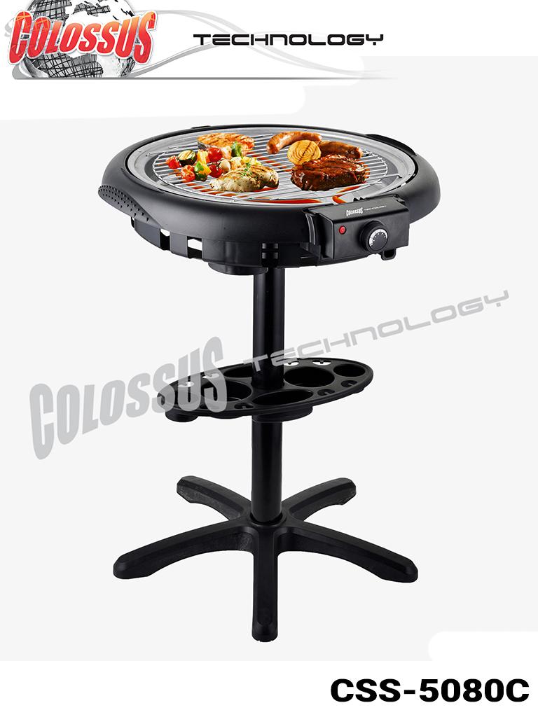 Električni roštilj sa postoljem 2u1 Colossus CSS-5080C
