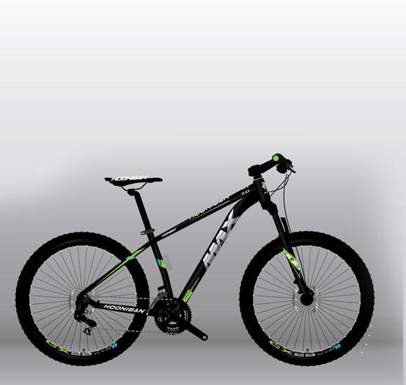 "Bicikl HOONIGAN green 29"""