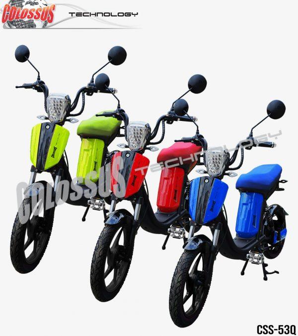 Električni bicikl Colossus-53Q zeleni