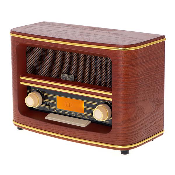 Retro radio BT USB Adler AD1187